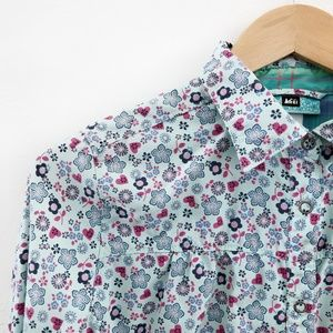 REI Flower Print Girls' Shirt 100070